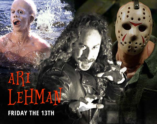 Ari Lehman at Darkside in Riverside
